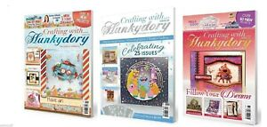 Crafting with Hunkydory Magazine Issues - Choice from 22,25,26 & FREE KIT