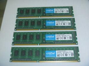 Crucial 4GB (1 x 4GB) RAM Memory DDR3L Desktop PC3-14900 (DDR3-1866) 1.35V PC3L