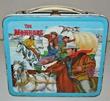 Nice Vintage 1967 The Monroes TV Show Western Metal Lunchbox C6.5+ Rare