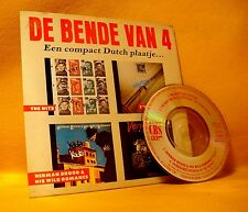 "Cardsleeve 3"" MINI CD De Bende Van 4 Een Dutch Plaatje 4TR 1988 Herman Brood !!!"