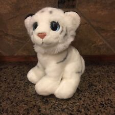 "10"" Ty Safari White Snow Tiger - Euc"