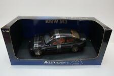 Auto Art Performance 1/18 Scale Diecast 70541 BMW M3 Coupe - Black -