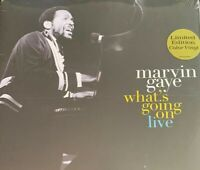Marvin Gaye Whats Going On Live Turq 2LP Al Green Curtis Mayfield ArethaFranklin