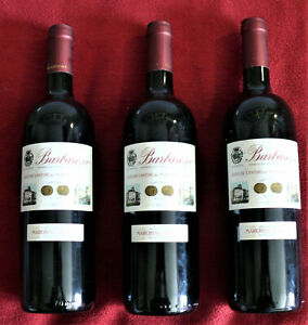 Rotwein- 3 Flaschen - Marchise di Barolo -  2012 Tradizione 0,75 Lt