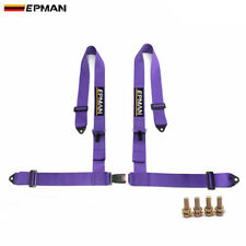 "Racing Competition 4 Point Snap-In Camlock Safety Seat Belt Harness 3"" Universal"