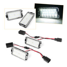 2x LED Tail License Plate Light Lamp Error Free for Altea Seat Arosa Ibiza Leon