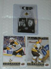 18/19 + 20/21 UD Cup Components Hall/Hull + Canvas Mario Lemieux + Bobby Orr