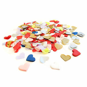 Mixed Colour Heart Wedding Confetti ❤ Party Table Decorations ❤ Biodegradable ❤