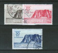NORVEGE Yvert n° 151/153 oblitéré