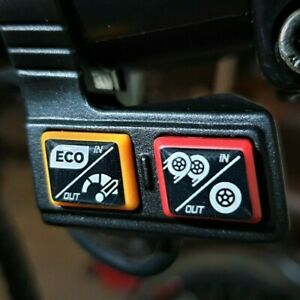 Zero 10x 11x Electric Scooter Dual / Single Motor Switch Button Gel Overlay