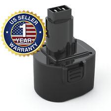9.6V Power Tool Battery for Dewalt Dw9061 Dw9614 Dw050 De9036 De9062 Dw9062