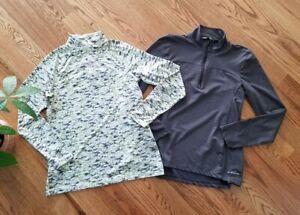 Eddie Bauer Hiking Fishing Outdoor Pullover Sweatshirts Women's Size M (Lot of 2