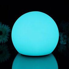 20cm impermeable al aire libre luz de estado de ánimo Bola Flotante-Lámpara Led Jardín Esfera
