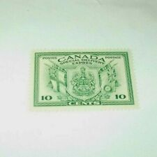 Canada Back Of The Book Stamp E 10 Mint Very Lightly Hinged Special Delivery r