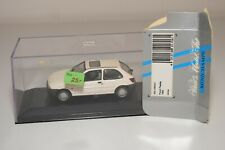 A2 1:43 MINICHAMPS FORD FIESTA 1995 WHITE MIB