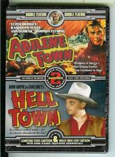 ABILENE TOWN & HELL TOWN, 2 cult western movies on new DVD in sealed case