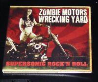 ZOMBIE MOTORS WRECKING YARD SUPERSONIC ROCK´N ROLL LIMITIERTE EDITION CD NEU