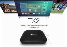 5pcs/lot dhl free  TX2 2GB-16G Smart Android-6-0-TV-Box- WiFi-Quad-Core-tv box