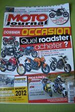MOTO JOURNAL N°1988 2012 // KAWASAKI 650 ER-6n KTM 690 DUKE HONDA NC 700 BMW 650