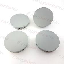 4x Centre Caps  ALLOY WHEEL HUB 75 - 72 mm  OPEL MERCEDES BENZ ALUTEC grey matte