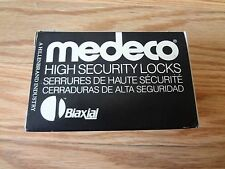 Medeco High Security 20W20049-26-E3S Sargent Knob Lock Cylinder SATIN CHROME