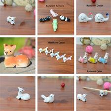 Cute Animal Ceramic Chopsticks Spoon Fork Holder Kitchen Chopstick Rest Stand
