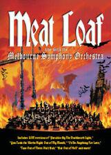 Meat Loaf Live with Melbourne Australia Symphony Orchestra MEATLOAF DVD UK R2