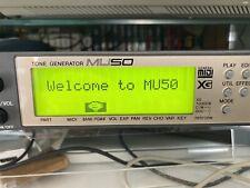 More details for yamaha mu50 tone generator midi xg sound module - tested