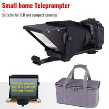 Portable Beam Splitter Teleprompter for iPhone/PC/Android Smartphone