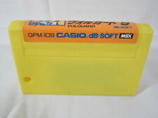 msx VOLGUARD Yellow Cartridge Import Japan Video Game msx cart