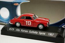 Solido 1/43 - Alfa Romeo Giulietta Sprint Tour de Corse 1957  N°113