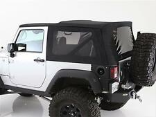 2010-2017 Jeep Wrangler 2 Door Replacement Soft Top with Tinted Windows Black