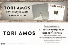 TORI AMOS BOOKMARK 2015 Official Promo Little Earthquakes Under the Pink MINT