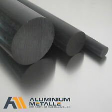 Polyamide PA6 REDONDO Ø 40mm Negro Length Selectable Pa
