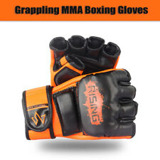 RISING Grappling MMA Boxing Gloves Punching Training Sparring Fighting Wraps UFC