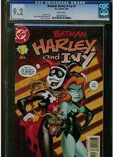 BATMAN HARLEY & IVY #1 CGC 9.2 NEAR MINT - WHITE PAGES 2004 DC COMICS 1ST PRINT