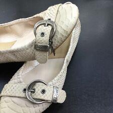 Dior Ladies Exotic Skin Ballet Flats size 37.5