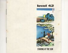 CD LEVEL 42	staring at the sun	US 1988 EX  (A4559)