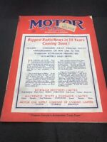 MOTOR IN CANADA JUNE 1938 Magazine Car Add Really Lovely