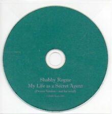 (AB273) Shabby Rogue, My Life As A Secret Agent - DJ CD