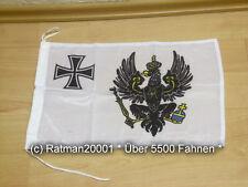 Fahnen Flagge Preußen Bootsfahne Tischwimpel Biker - 30 x 45 cm