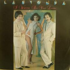 """7"""" RARE PORTUGAL PRESS! LA BIONDA I Wanna Be Your Lover"""