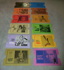 ISAAC HAYES, PAM GRIER, RAQUEL WELCH  - ONE OF A KIND CARD SET!