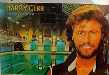 BARRY GIBB NOW VOYAGER HUGE POSTER NEW MINT UNUSED ORIGINAL AUTHENTIC BEE GEES