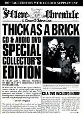 Thick as a Brick 40th Anniversary CD/DVD] by Jethro Tull CD, Nov-2012, 2 Discs