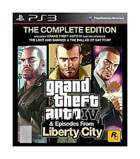 Grand Theft Auto IV The Complete Edition (Sony PlayStation 3, 2010)