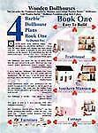 Barbie Dollhouse Plans Book One by Dennis Day (2008, Paperback)