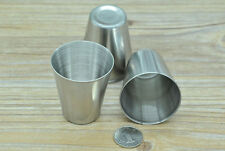 10 PCS Stainless steel Cups 2OZ Wine Beer Water Small Cup Travel Picnic Outdoor