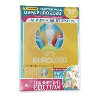 Panini Euro 2020 Tournament Edition Stickers - Starter Pack