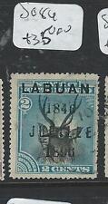LABUAN (P2207B) 2C DEER SG 84  VFU